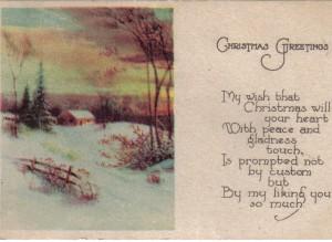 Joan10Christmas Post Card