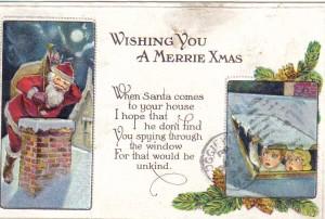 Joan2Christmas Post Card