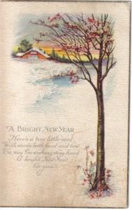 Joan2Happy New Year Post Card