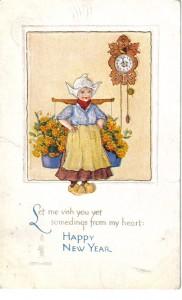 Joan5Happy New Year Post Card