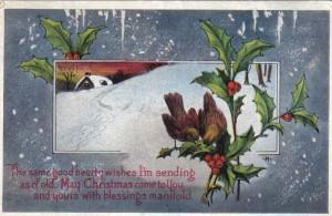 Joan7Christmas Post Card