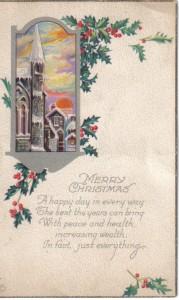Joan9Christmas Post Card
