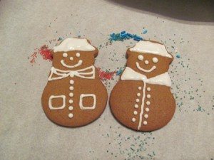 Baking and decorating cookies with your kids is a fun holiday tradition.