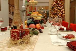 Christmas dinner never looks like this!
