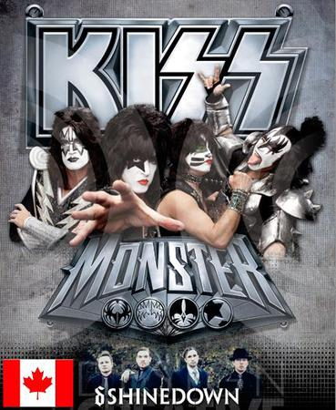 KISS Monster Tour 2013 rolls into Saint John's Harbour Station on July