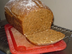 Molasses Oat Bread baked by Allyson Kenning.
