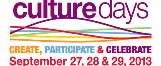 Culture Days are Here!