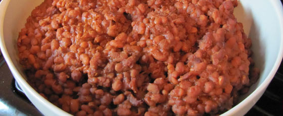 Shannon's Cheater Baked Beans for a Crowd