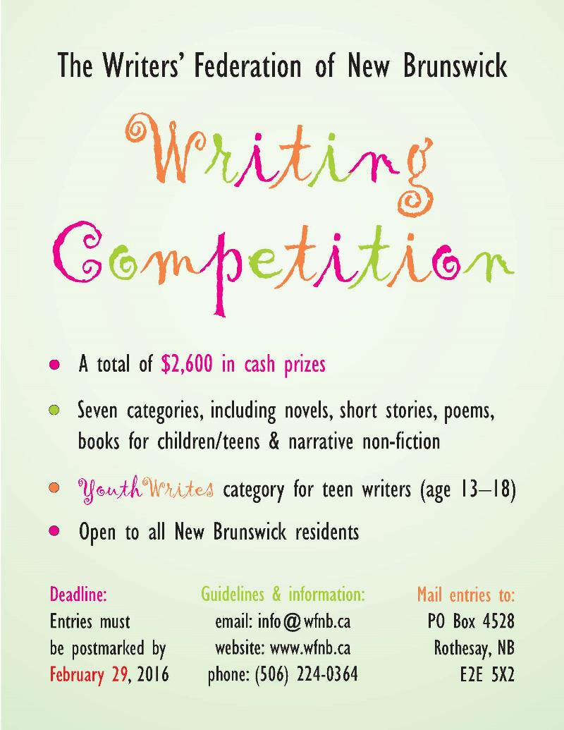 WFNB-writing comp 2016 poster